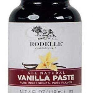 Rodelle all natural vanilla paste for baking
