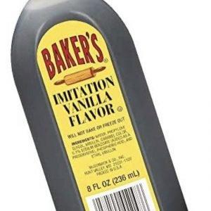 Baker's vanilla extract for baking