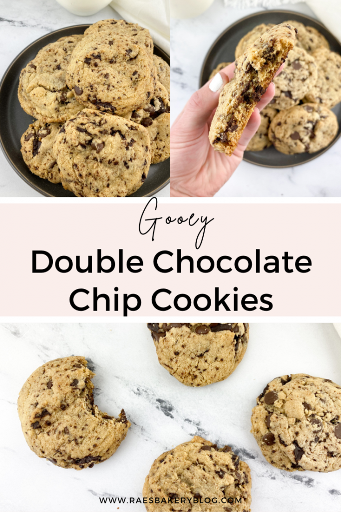 chocolate chip cookies, cookies, double chocolate chip cookies