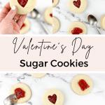 strawberry filled sugar cookies, sugar cookie cutouts, cutout sugar cookies